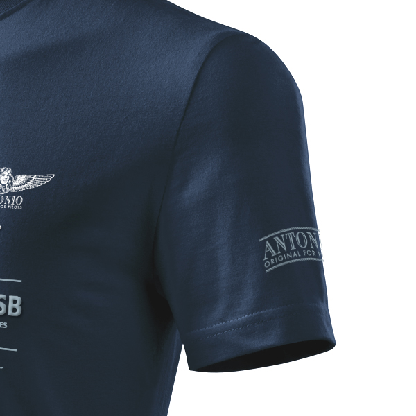 T-Shirt with aerobatic biplane PITTS S-2B - Size: XL