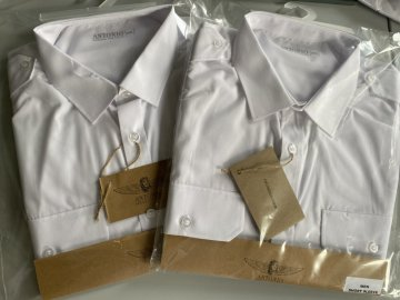 We are preparing new products, airline shirts as well!