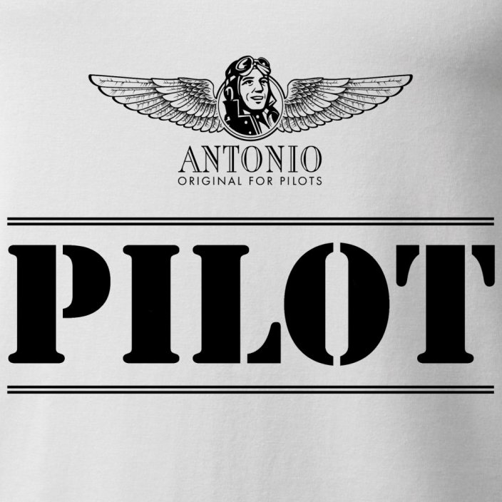 T-Shirt with sign of PILOT