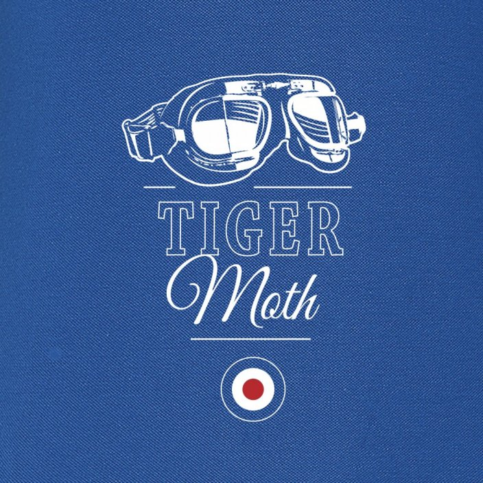 Women Polo british biplane DE HAVILLAND TIGER MOTH (W) - Size: L