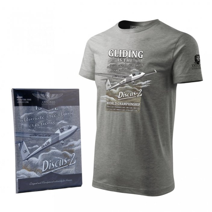 T-Shirt with glider DISCUS-2 - Size: XXL