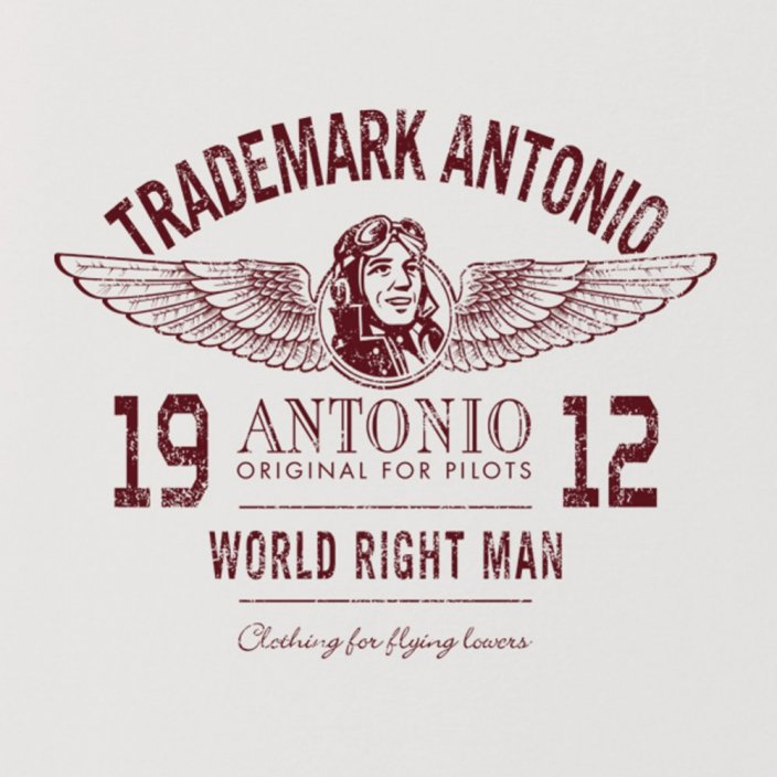 Women T-shirt with logo ANTONIO 1912 (W) - Size: L