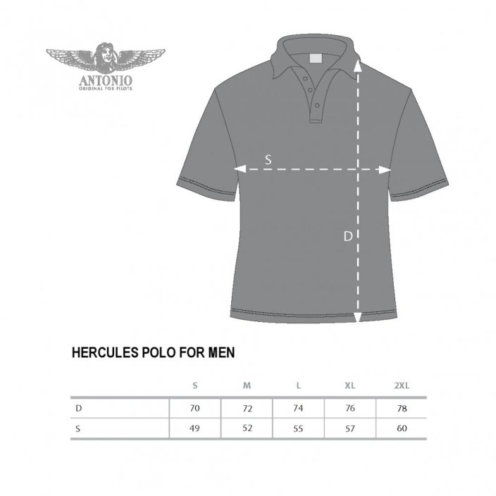 Polo-shirt transport letal FORD 5-AT