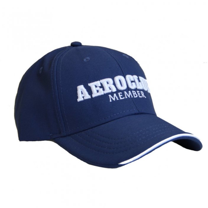 Baseball cap with motive AEROCLUB