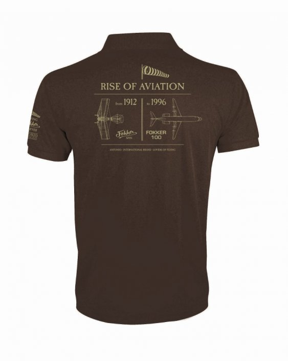 Polo rise of aviation ANTHONY FOKKER - Size: M