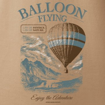 Tshirt for the lover of balloon flying